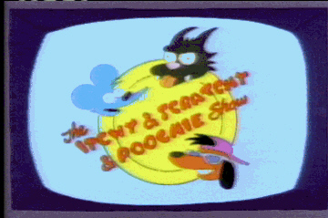 the first and last episode of itchy and scratchy and poochie